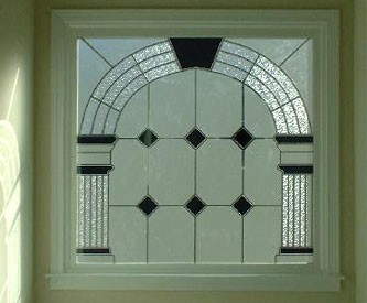 Brownsburg Fauxstained Glass
