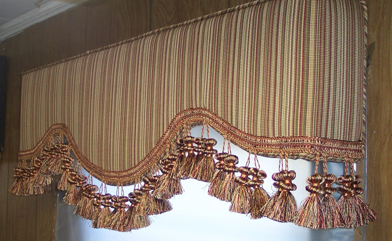 Brownsburg upholstered cornice boards