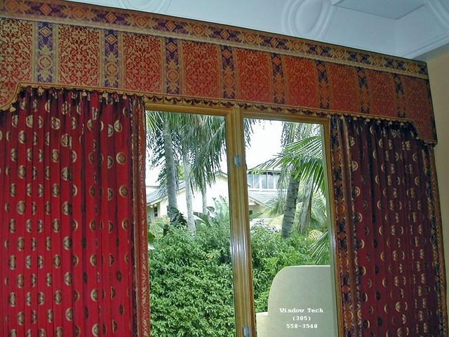 Brownsburg upholstered cornice boards