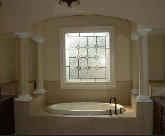Brownsburg Fauxstained Glass;